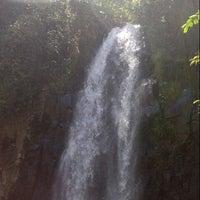 Photo taken at Curug Cinulang, Cicalengka by Fajar P. on 9/15/2013