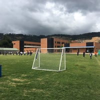Photo taken at Colegio Angloamericano by Cesar O. on 9/15/2017