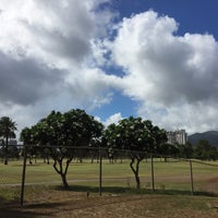 Photo taken at Ala Wai Golf Course by Sayaka J. on 7/28/2017