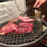 Photo taken at ホルモン・もつ鍋 とんちゃん by Sayaka J. on 4/9/2016