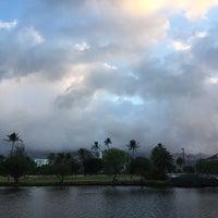 Photo taken at Ala Wai Golf Course by Sayaka J. on 10/4/2017