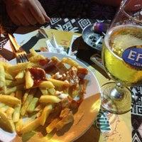Photo taken at Bahçe Cafe by Berna Y. on 8/14/2013