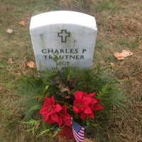 Photo taken at State Veterans Cemetery by Michael W. on 12/1/2013