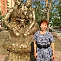 Photo taken at Аллея на кск by Оля С. on 6/19/2013