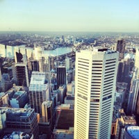 Photo taken at Sydney Tower Eye by Apple P. on 10/2/2012