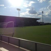 Photo taken at Ellis Field - Aggie Soccer Stadium by Calvin M. on 8/23/2013