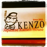 Photo taken at Kenzo Ramen by Cristina G. on 5/12/2013