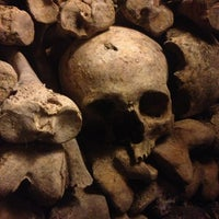 Photo taken at Catacombs of Paris by SillyCamilly on 4/5/2013