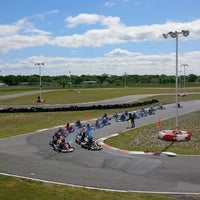 Photo taken at Dallas Karting Complex by Nina R. on 5/5/2013