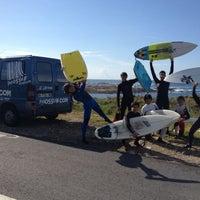Photo taken at Patos Surf Galicia by Patos E. on 5/22/2013
