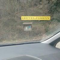 Photo taken at Grotte de Floreffe by Thibaut d. on 3/17/2013