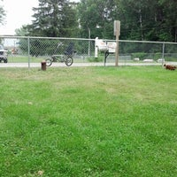 Photo taken at Howard Dog Park by Becky H. on 7/12/2014