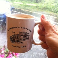 Photo taken at Grandma's Coffee House by Anna Harrison G. on 9/6/2014