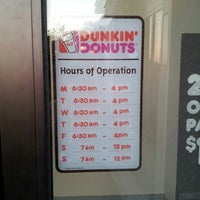 Photo taken at Dunkin Donuts by Melissa C. on 10/18/2013