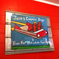 Photo taken at Jack's Cosmic Dogs by Charles O. on 9/5/2011