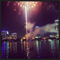 Photo taken at Lake Eola Park by Os on 7/5/2013