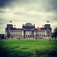 Photo taken at Reichstag by Iandro M. on 6/1/2013