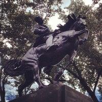 Photo taken at José Julian Martí Monument by Anna Vaughn Hyatt Huntington by Iandro M. on 9/13/2013