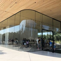 Photo taken at Apple Park Visitor Center by yojiro m. on 8/13/2018