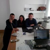 Photo taken at damizlik koyun keci yetistiricileri birligi by Selma C. on 2/4/2014