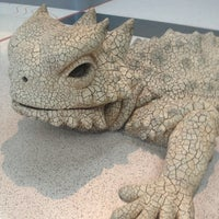 Photo taken at Bearded Dragon Sculpture by Michael P. on 8/17/2013