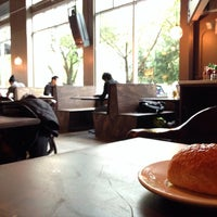 Photo taken at Cafe Solstice by PATRICIA C. on 10/15/2014