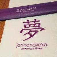 Photo taken at John and Yoko Cosmopolitan Japanese by Candy B. on 9/15/2012