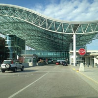 Photo taken at Gerald R. Ford International Airport (GRR) by Angie M. on 4/21/2013