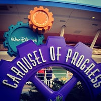 Photo taken at Walt Disney's Carousel of Progress by Alex G. on 3/4/2013