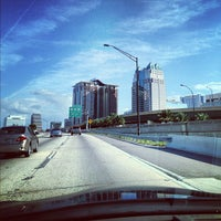 Photo taken at Interstate 4 & FL State Route 408 by Alex G. on 10/13/2012