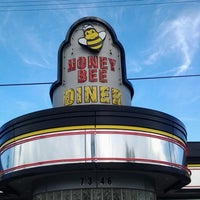 Photo taken at Honey Bee Diner by Dennis Y. on 4/20/2013