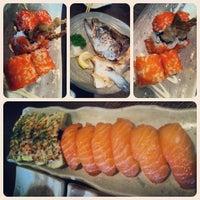 Photo taken at Sushi Zanmai (壽司三味) by peixiannelise on 4/30/2013