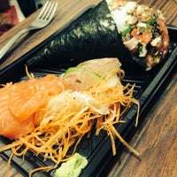 Photo taken at Tokahana Sushi by Rodrigo F. on 3/11/2014