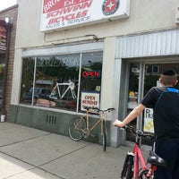 Photo taken at Brookdale Cycle by Ron C. on 7/11/2013