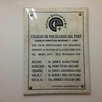 Photo taken at Colegio de Psicólogos de Lima by Claudia G. on 6/21/2013