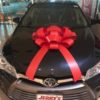 Photo taken at Jerry's Toyota by Abir C. on 12/29/2016