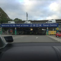Photo taken at Port of Dover Ferry Terminal by Michelle B. on 6/9/2013