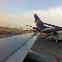 Photo taken at Thai Airways Flight TG 704 by sutthichao c. on 5/1/2013
