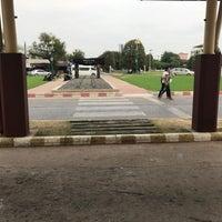 Photo taken at สถานีรถไฟขอนแก่น (Khon Kaen) SRT2163 by Bookk I. on 1/6/2017