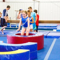 Photo taken at Tumbles Gymnastics & Cheer LLC by Tumbles Gymnastics & Cheer LLC on 6/28/2018