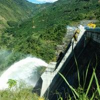 Photo taken at Represa Proyecto Hidroelectrico Pirrís by Jose B. on 12/1/2015