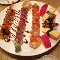 Photo taken at Samurai Sushi by Albert C. on 5/23/2013