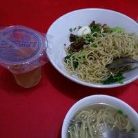 Photo taken at Bakmi Ayam & Chinese Food AKAI by Handy W. on 3/30/2015