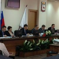 Снимок сделан в Администрация Нижнего Новгорода пользователем Elena L. 4/1/2013