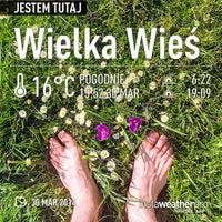 Photo taken at Urząd Gminy Wielka Wieś by Rahim B. on 3/30/2014