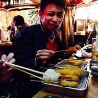 Photo taken at 焼きそパン by akane k. on 2/16/2014