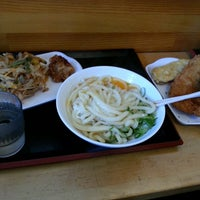 Photo taken at セルフうどん ふじい by Tatsuo M. on 11/16/2013