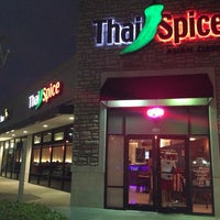 Photo taken at Thai Spice by Dwight B. on 3/23/2014