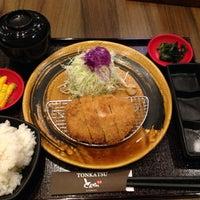 Photo taken at Tonkatsu by Terazawa by Mylezmd on 11/16/2014