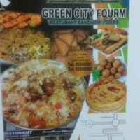 Photo taken at Zanzibari Food Resturant Al Khoudh 6 by Clark A. on 10/16/2014